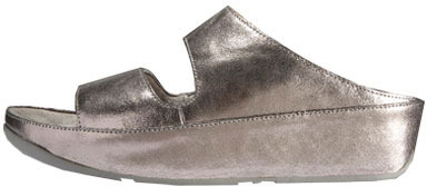 FitFlop Lolla Crackle (pewter)