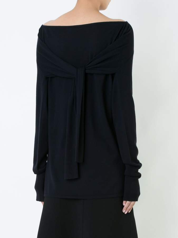 Dion Lee Pinacle boat neck jumper