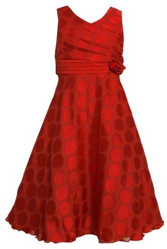 Bonnie Jean Girls 7-16 Burnout Dot Dress