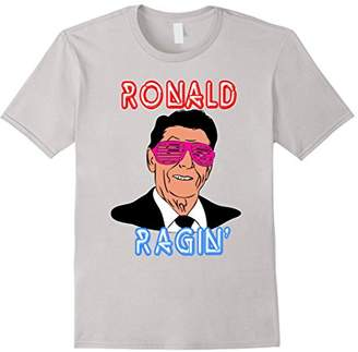 Ronald Ragin Reagan Sunglasses Independence 4th July Shirt