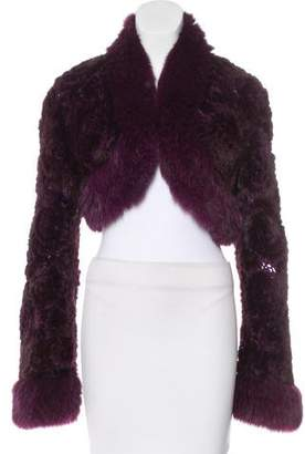 Guy Laroche Mink & Fox Fur Jacket