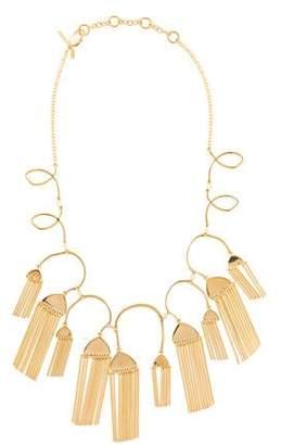 Lele Sadoughi Comb Tassel Necklace
