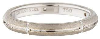 Tiffany & Co. 18K Diamond Band