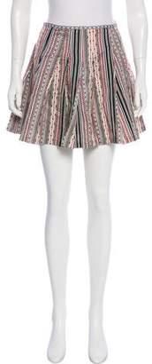 Dries Van Noten Silk-Blend Skirt