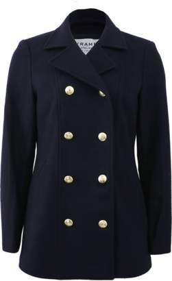 Frame Le Double Breasted Peacoat