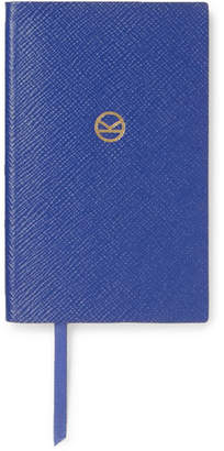 Smythson Kingsman + Panama Cross-grain Leather Notebook