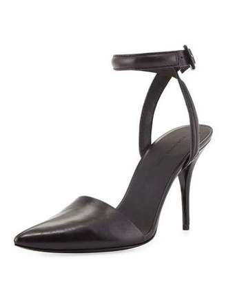 Alexander Wang Lovisa Leather d'Orsay Pump, Black $495 thestylecure.com
