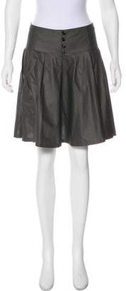 Societe Anonyme A-Line Mini Skirt