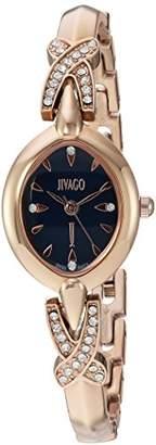 Jivago Women's 'Via' Quartz Stainless Steel Casual Watch