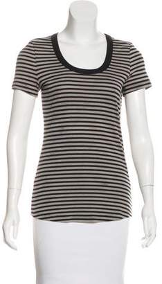 Kain Label Striped Short Sleeve Top