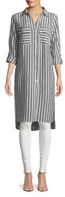 Jones New York Striped Long Tunic