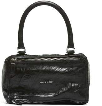 Givenchy Small Pandora Tote From Black Small Pandora Tote With Top Handle, Top Zip Closure, Internal Compartment, Front Logo Plaque, Detachable And A
