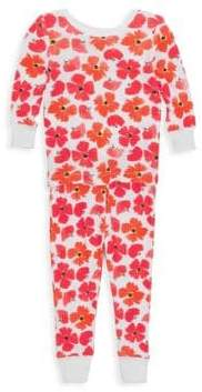 Aden Anais Baby Girl's & Little Girl's Two-Piece Poppies Pajama Set