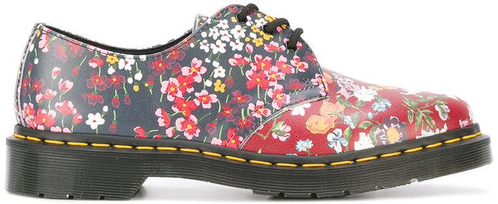 Dr. MartensDr. Martens floral print lace up shoes