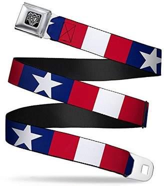 Americana Buckle-Down Unisex-Adults Seatbelt Belt XL