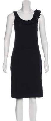 DKNY Sleeveless Knee-Length Dress