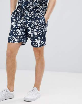Vans Trippin Decksider Shorts In Navy VA3H5WPL6