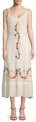 Nanette Lepore Nanette Embroidered Sleeveless Dress