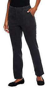 Denim & Co. Original Waist Stretch Tall Pantsw/ Side Pockets