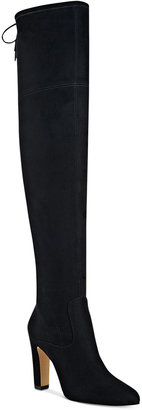 Ivanka Trump Smith Over-The-Knee Boots $179 thestylecure.com