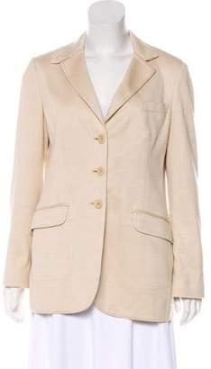 Loro Piana Structured Button-Up Blazer