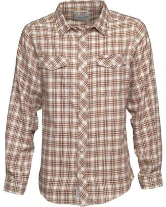 Craghoppers Mens Kiwi Checked Long Sleeve Shirt Espresso Brown