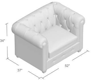AllModern Custom Upholstery Keegan Chair and a Half
