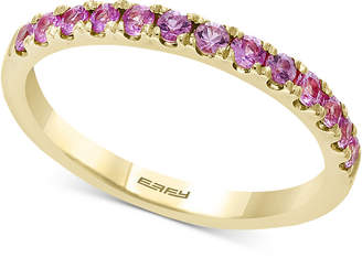 Effy Watercolors by Multi-Sapphire Band (5/8 ct. t.w.) in 14k Gold