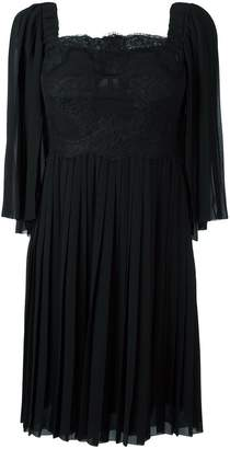 Dolce & Gabbana embellished silk crepe dress