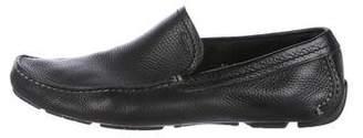 Salvatore Ferragamo Leather Driving Loafers