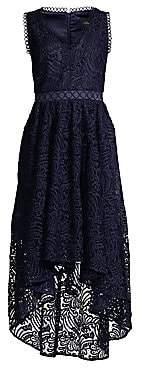 Shoshanna Women's Allona High-Low Lace Dress