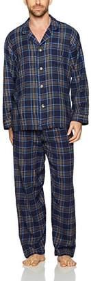 Geoffrey Beene Men's Flannel Pajama Set