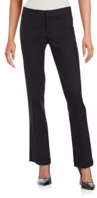 Saks Fifth Avenue BLACK Power Stretch Flare Pants