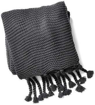 Pom Pom at Home Trestles Acrylic Throw - Midnight