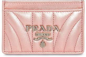 Prada Quilted Leather Card Holder
