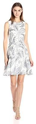 Tommy Hilfiger Women's Daisy Paisley Print Dress