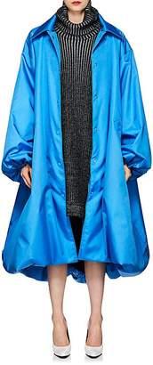 Balenciaga Women's Canvas Oversized Coat