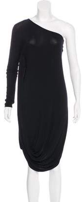 Under.ligne By Doo.ri One-Shoulder Knit Dress w/ Tags