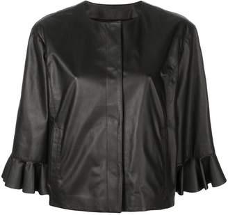 Drome frilled loose jacket