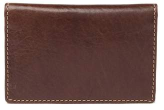 Bosca Vermont Leather Card Case