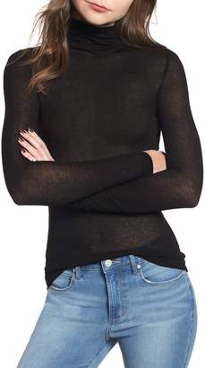 Leith Lightweight Long Sleeve Funnel Neck Top