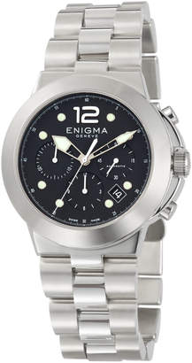 Bulgari Enigma By Gianni Automatic Chronograph Watch w/ Bracelet Strap