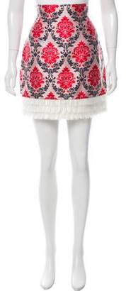 Mary Katrantzou Brocade Mini Skirt w/ Tags