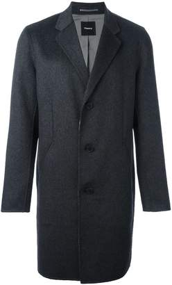 Theory reversible single breasted coat
