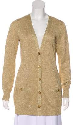 Lauren Ralph Lauren Metallic Knit Cardigan w/ Tags
