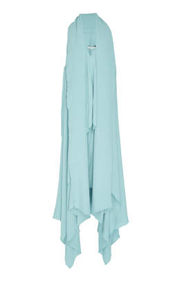 Lenny Niemeyer Asymmetric Silk Maxi Dress