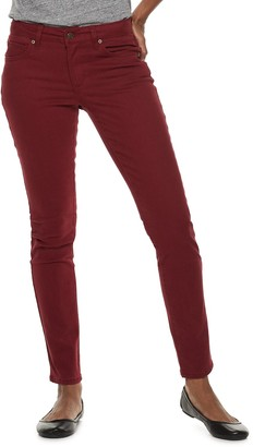 Dockers Sonoma Goods For Life Women's SONOMA Goods for Life Supersoft Midrise Sateen Skinny Pants