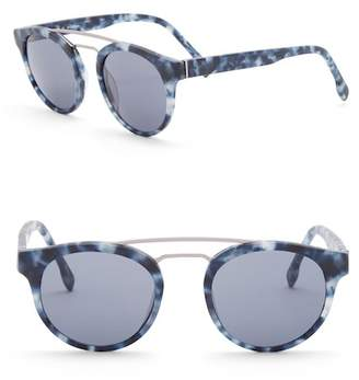 Joe's Jeans 48mm Clubmaster Sunglasses