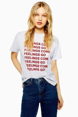 Topshop 'Feelings Come' T-Shirt