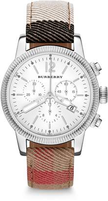 Burberry BU7820 42mm Stainless Steel Case Multicolor Cloth Anti-Reflective Sapphire Women's Watch